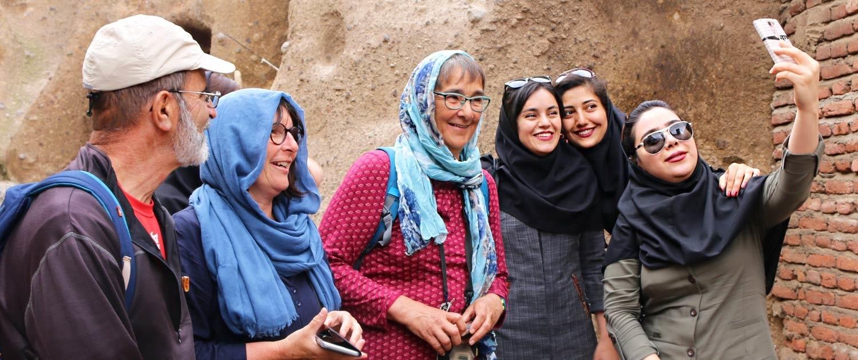 Rejoindre un groupe pour voyager en Iran