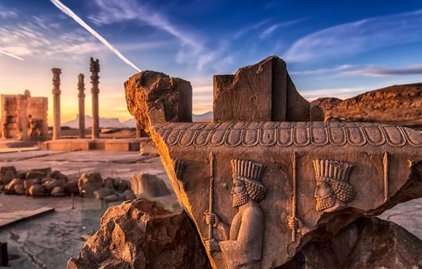 Pick-up from hotel and visiting Persepolis