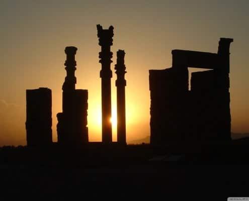SunsetinPerspolis Shiraz,Iran