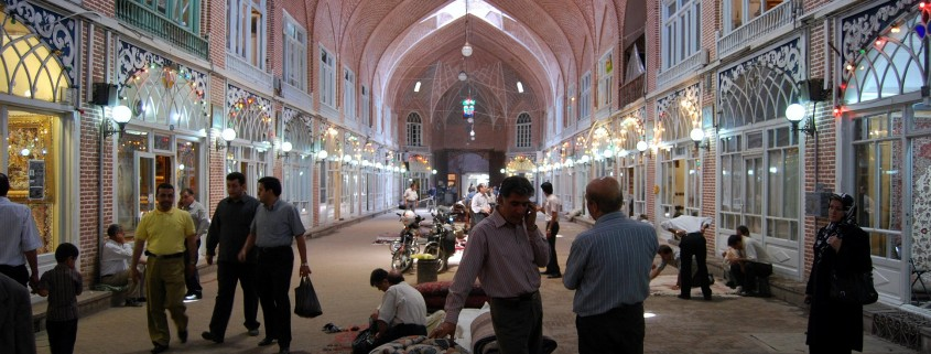 Carpet Bazaar of Tabriz