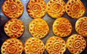Persian cookies called Koloocheh.