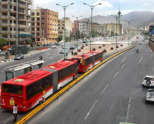 Tehran BRT Bus
