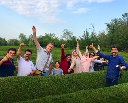 Iran Tea Farm Tours
