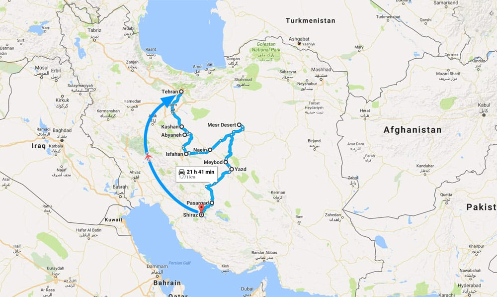 Discover The Ancient Persia In 15 Days Surfiran