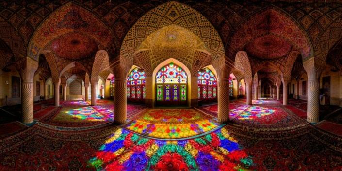 Nasiral MulkMosqueinShiraz,Iran