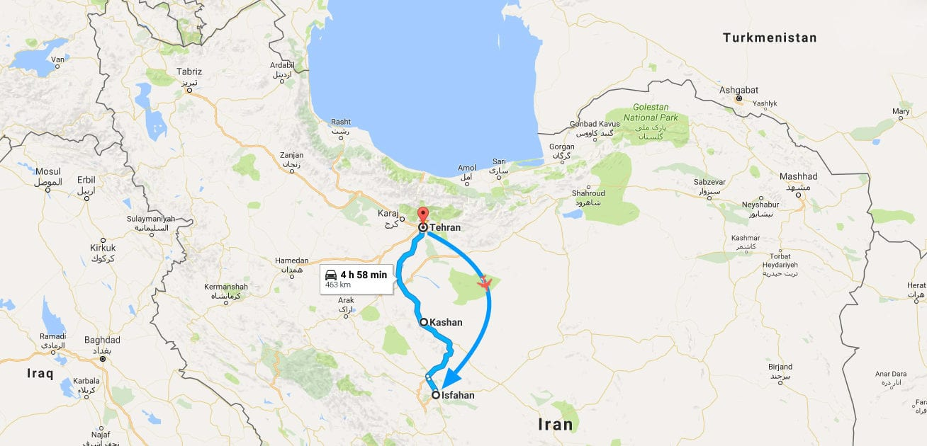 4-Day Iran Tour - The Magic of Persia - SURFIRAN