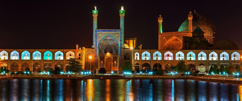 Italian tourists in Iran