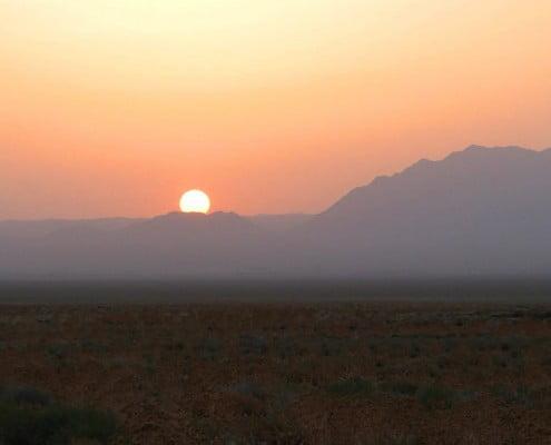 Khar Turan National Park or Touran Wildlife Refuge in Iran