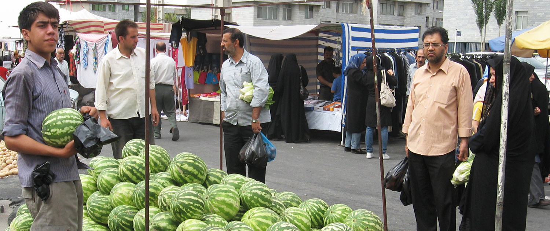 Tehran's Friday Flea Market (Jome Bazaar)
