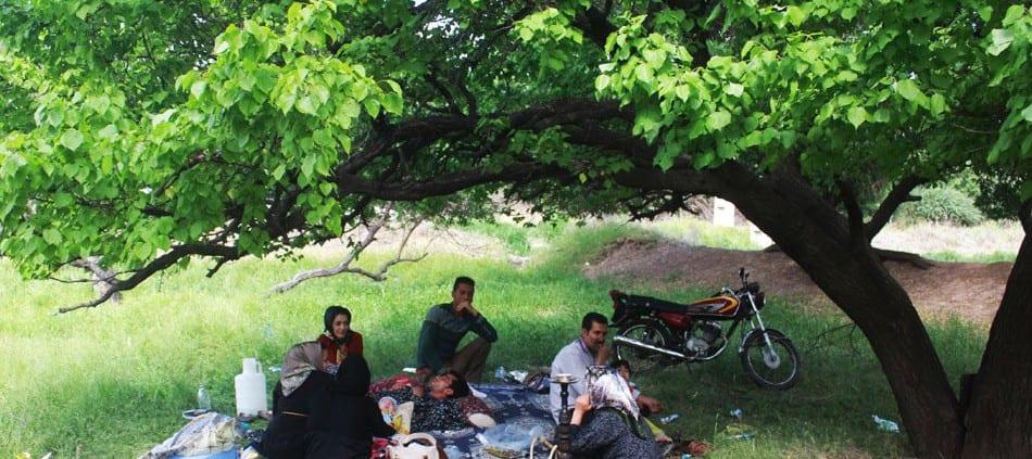 'Panjah Bedar' Festival in Qazvin, Iran