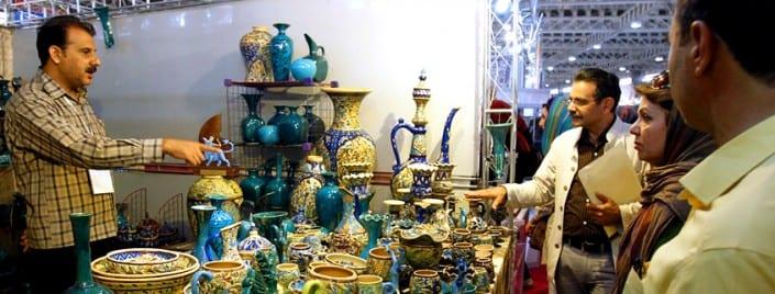 Iranian Handicrafts Exhibition in Kashan