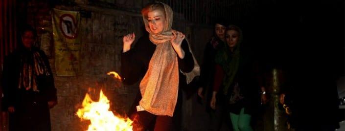 Char Shnabe Souri Festival in Iran
