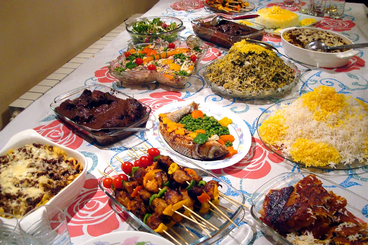 Iran On A Plate Iran Food And Travel Guide Iran Tourism - Cuisine iranienne