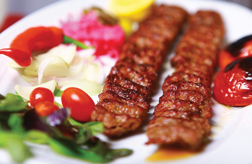 Persian Food, Kebab or Kababو Persian kebab