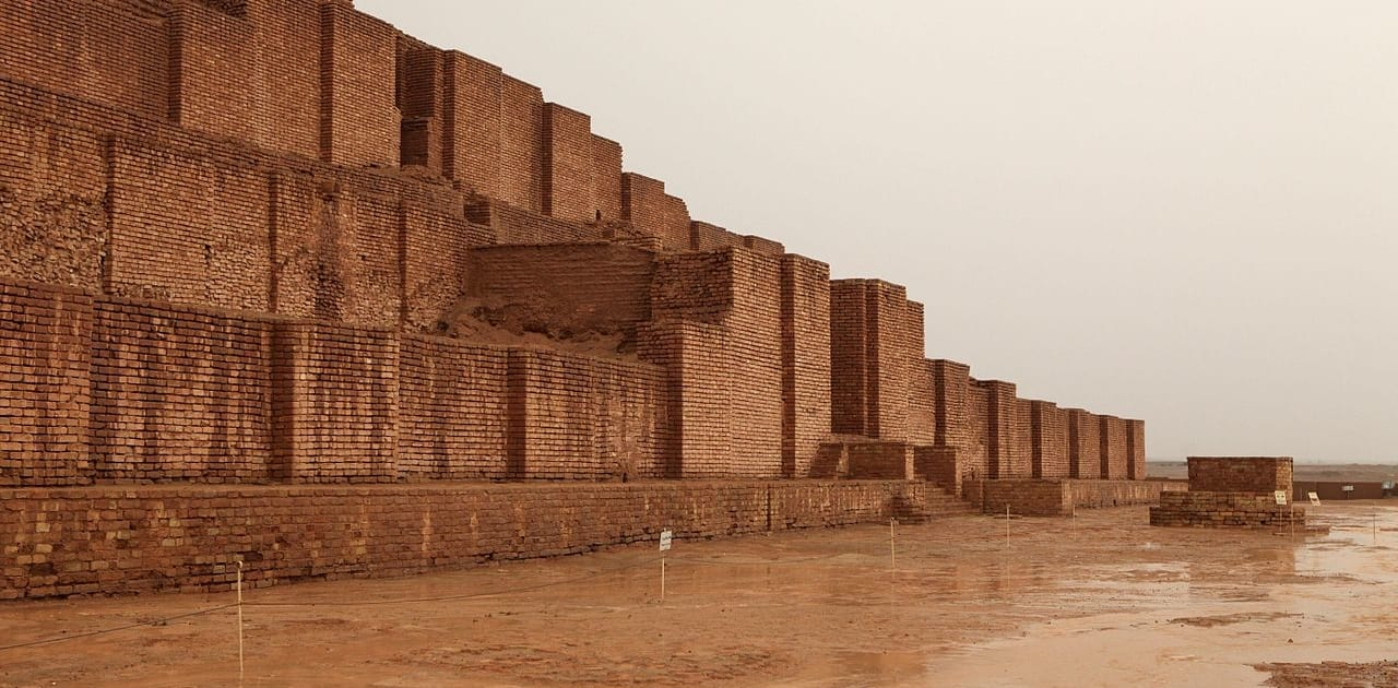 Elamite Ziggurat of Dur Untash in Persian Choqa Zanbil in Khuzestan, Iran