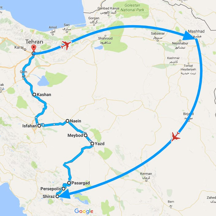 Iranian Saffron Farm Tour