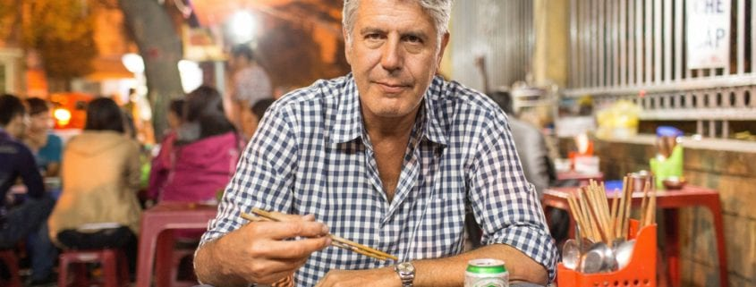 "Anthony Bourdain ""Iran does not look, does not feel the way I expected"""