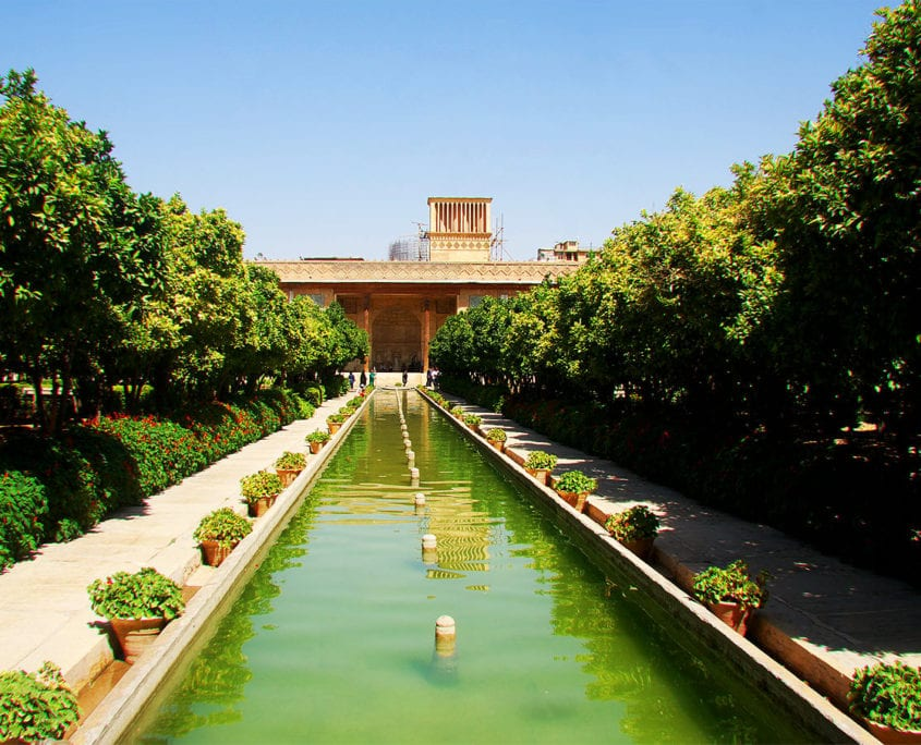 Arg of Karim Khan and it's Garden