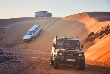 Desert Safari in Central Desert of Iran