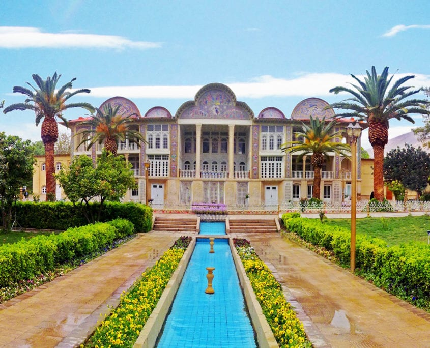 Eram Garden is a historic Persian garden in Shiraz, Iran