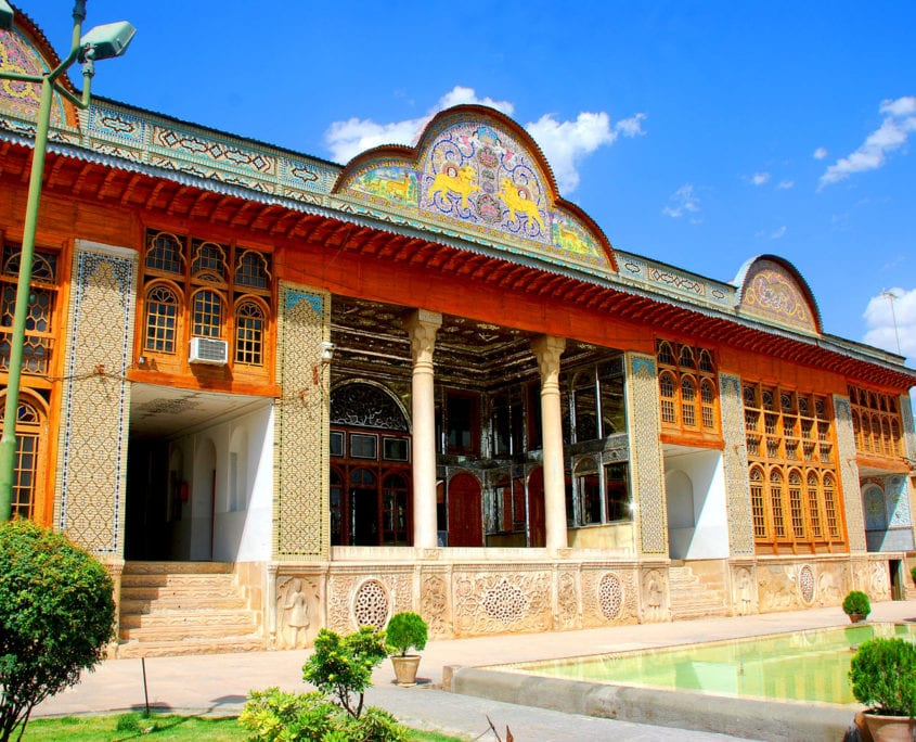 Qavam House is a traditional and historical house in Shiraz, Iran.