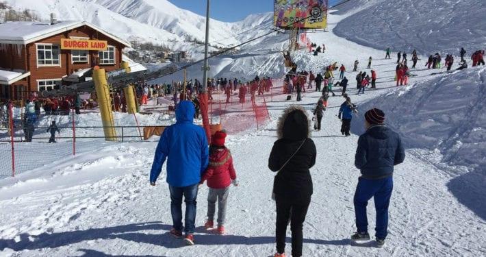 Darbandsar Ski Resort, Tehran - Iran Ski Touring