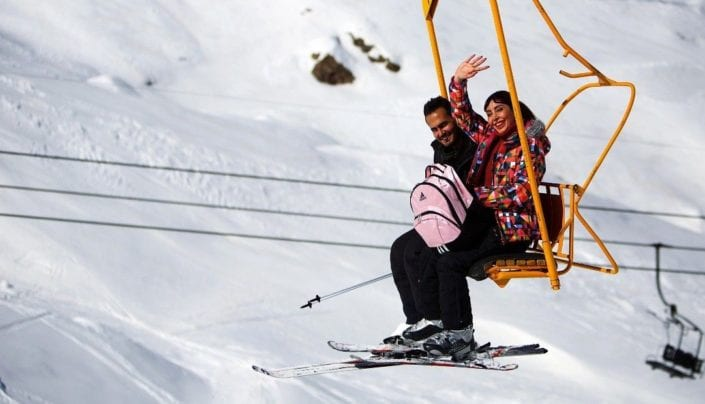 Dizin Ski Resort, Tehran - Iran Ski Touring