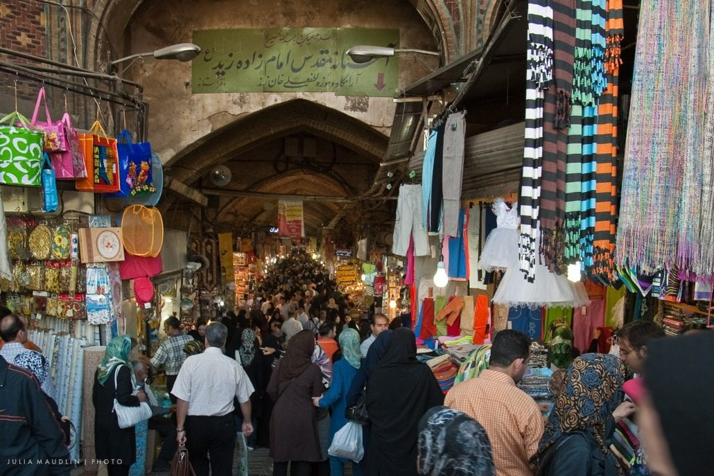 Grand Bazaar Tehran Surfiran