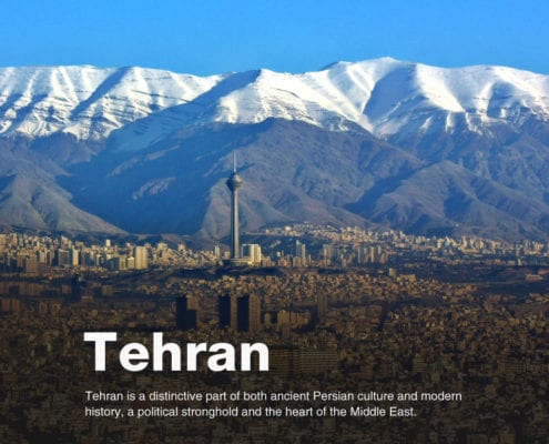Tehran is a distinctive part of both ancient Persian culture and modern history, a political stronghold and the heart of the Middle East.