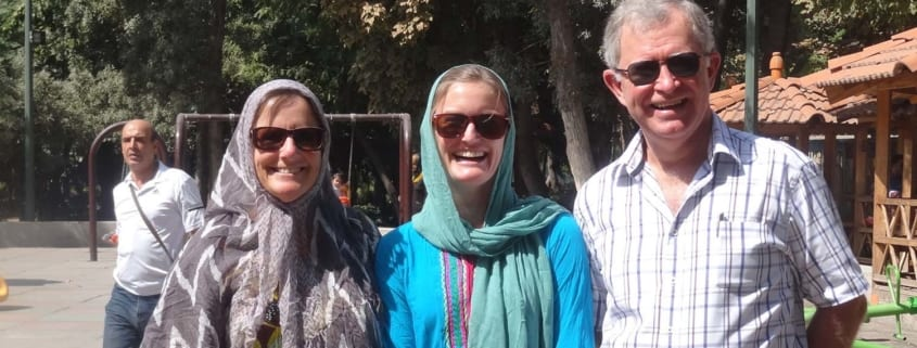 Tourists dress code in Iran