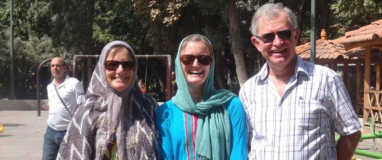 Tourists dress code in Iran