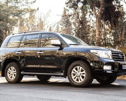 Toyotalandcruiser CarHireIran