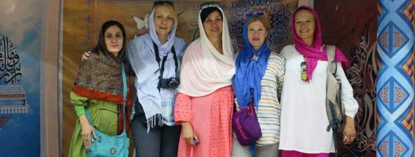 women tourists dress code in Iran