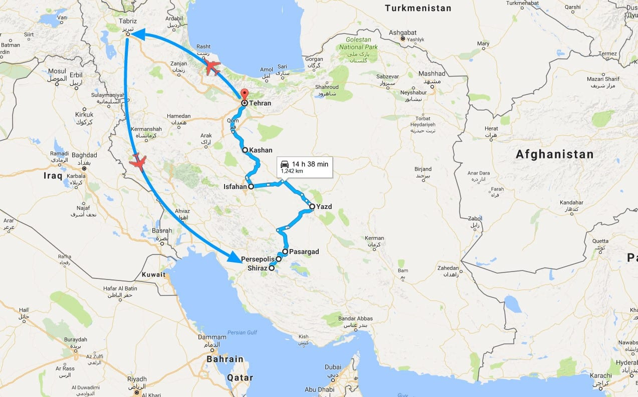 14-Day Iran Archaeology Tour