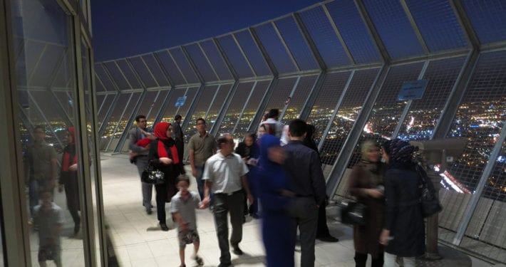 Travel to Iran – Milad Tower tehran Iran