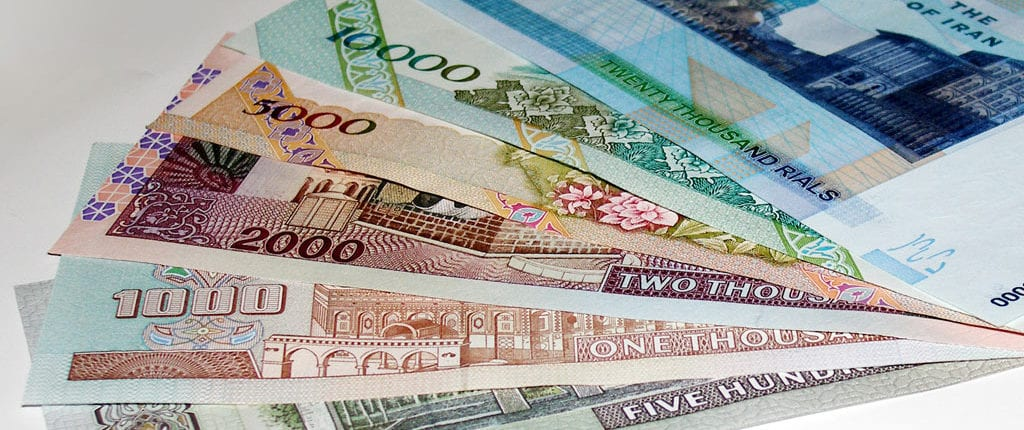 Iranian Rial (IRR) is the official currency