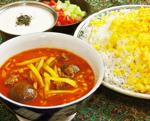 10 Best Persian Foods That You've Got to Try -Khoresht egheimeh
