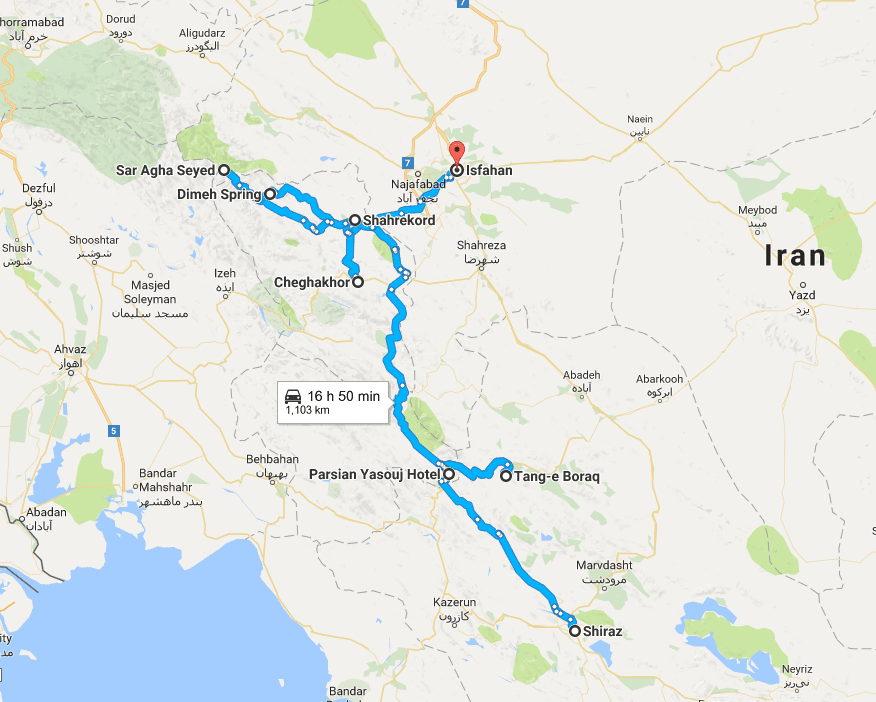 Iran Nomads Tour Living With The Qashqai Tribes SURFIRAN - Qashqai portugal map