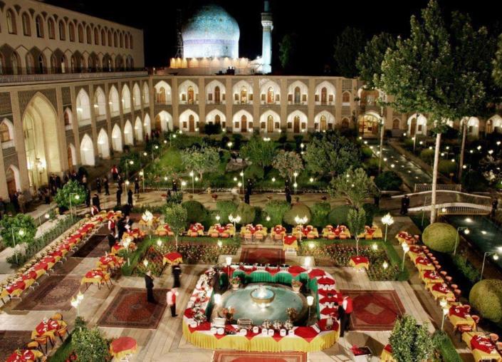 Abbasi Hotel, Isfahan, Iran