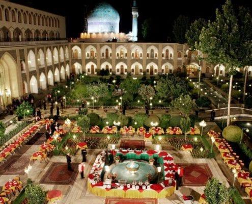 Abbasi Hotel Isfahan Iran