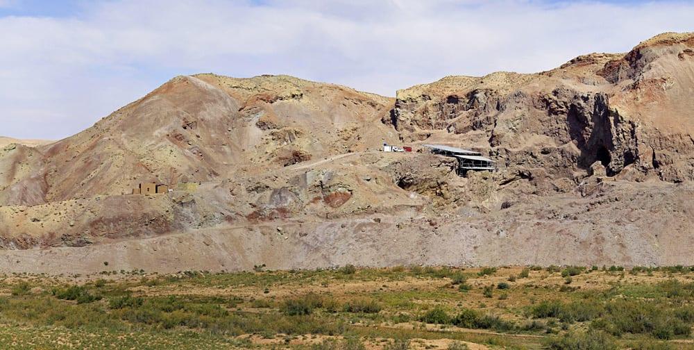 The site of Douzlakh, Zanjan, Iran