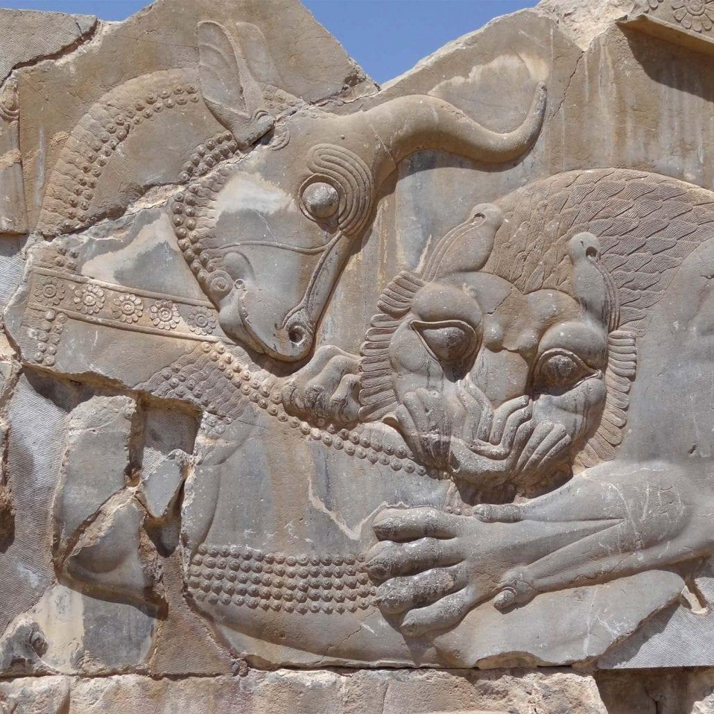 Persepolis stairs of the Apadana relief