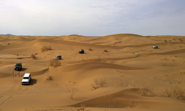 Iran Desert Garmeh and Mesr Desert, Iran