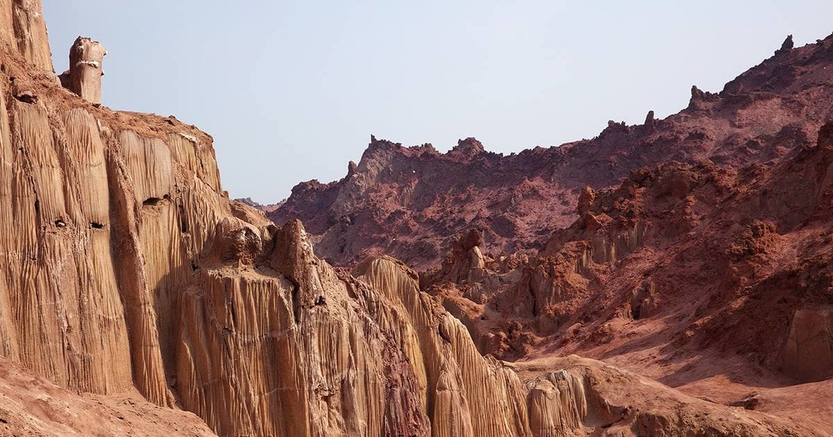 Hormoz, An Island With Edible Mountains in Iran