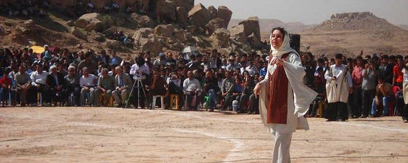 Gordafarid, The Iranian actress doing Naqqāli