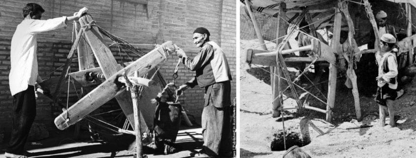 Moqannies, traditional skilled laborers; source ICQHS