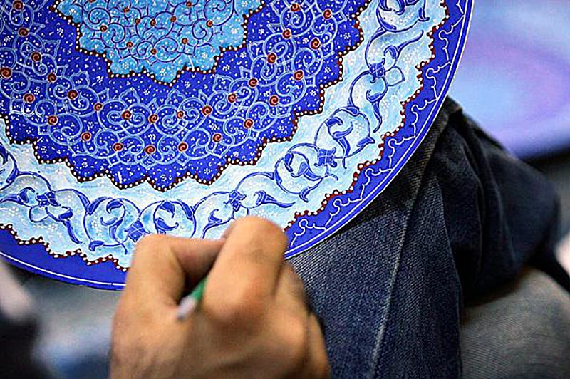Minakari in Isfahan