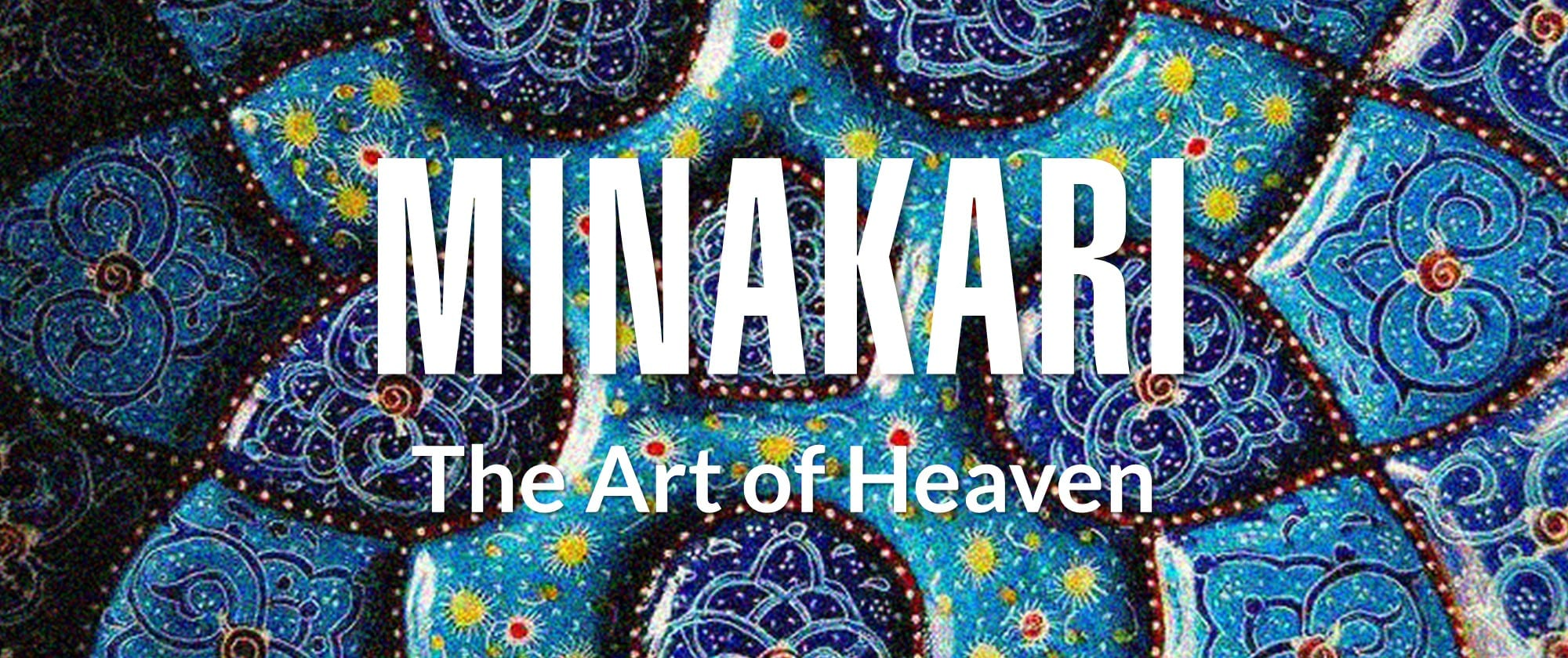 Iranian Minakari The Art Of Heaven Surfiran