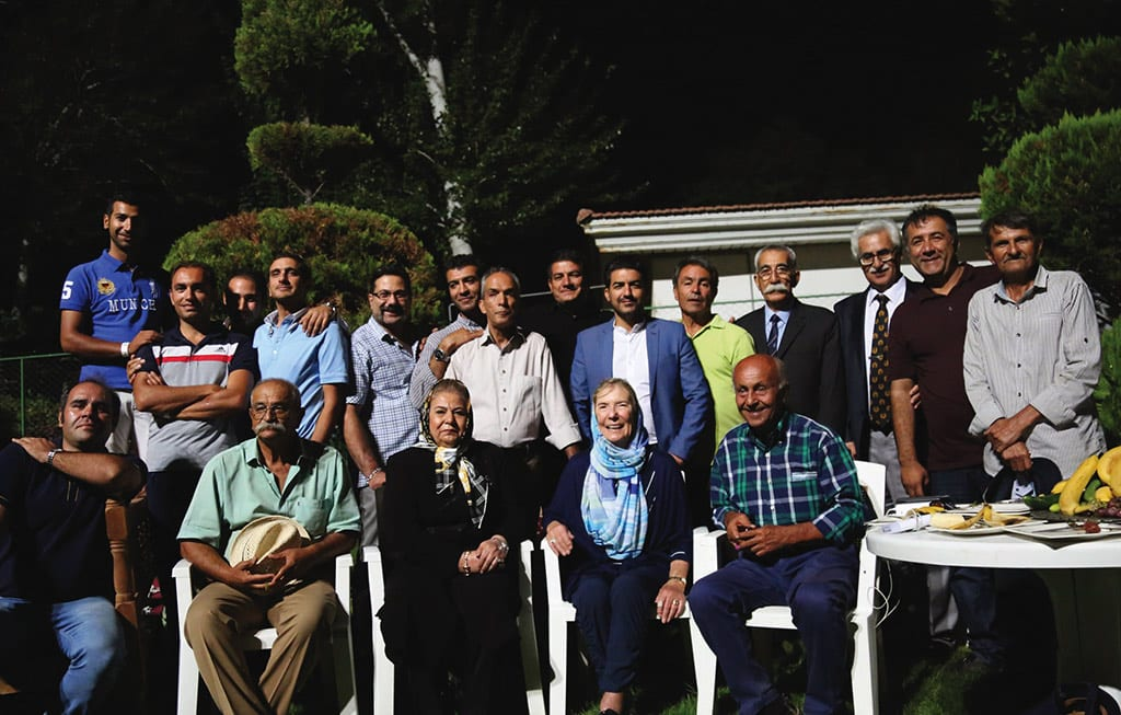 Gail is in Iran and is enjoying her time with her former trainees who are now respected horse trainers in Iran.