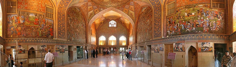 Chehel Sotoun (Esfahan, Iran)
